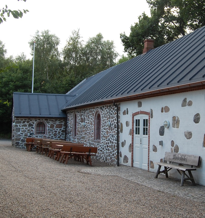 Gjessø forsamlinghus indgang