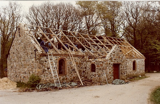 Gjessø Forsamlingshus renovering